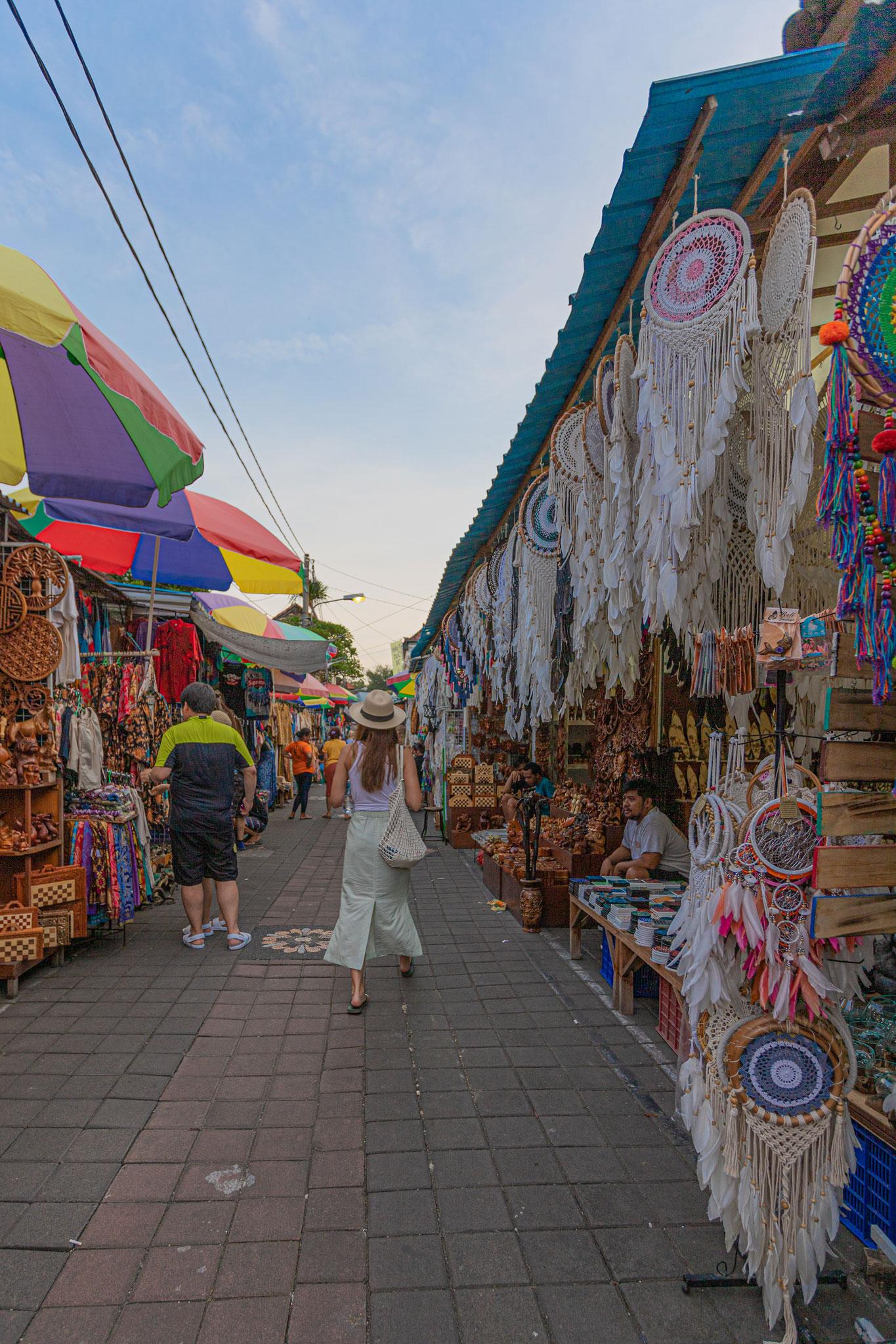 Markt in Bali