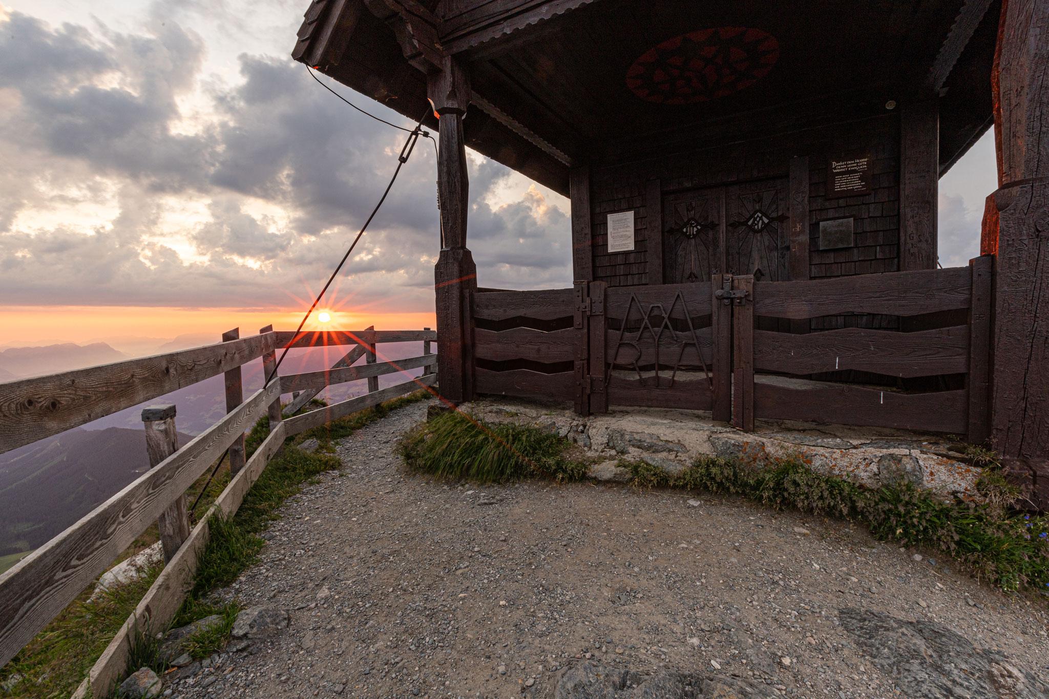 Sonnenaufgang Kellerjoch