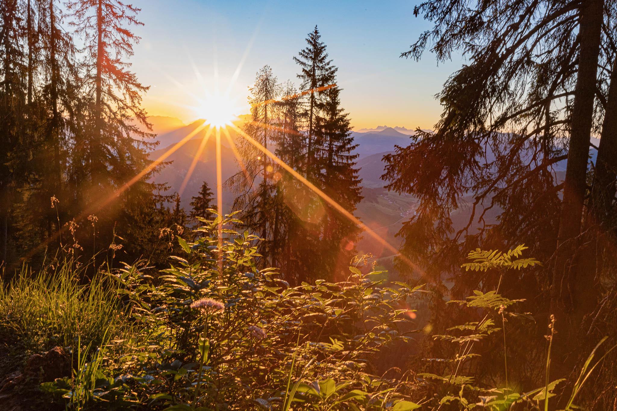 Sonnenaufgang Tirol