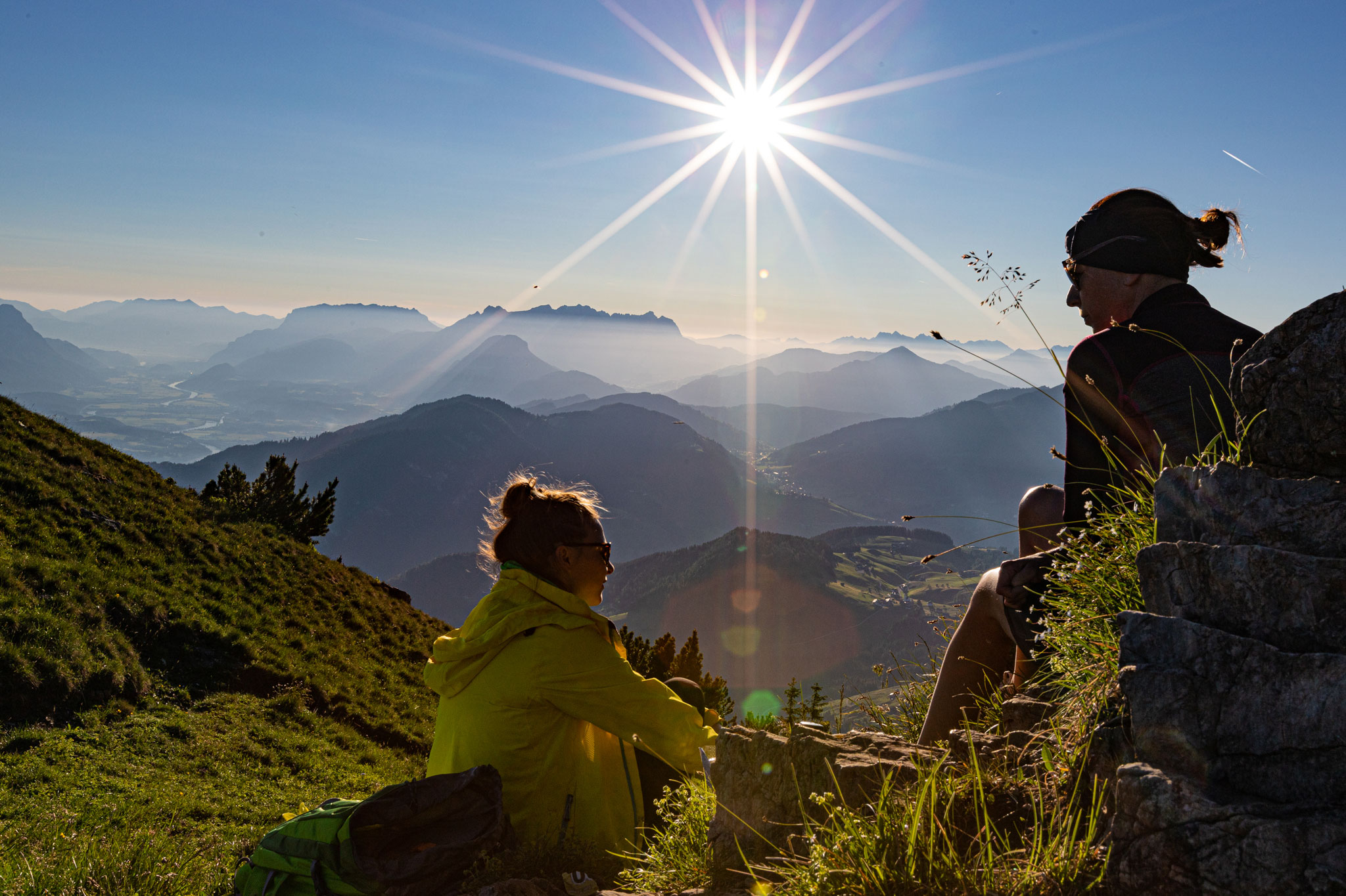 Sonnenaufgang Gratlspitz